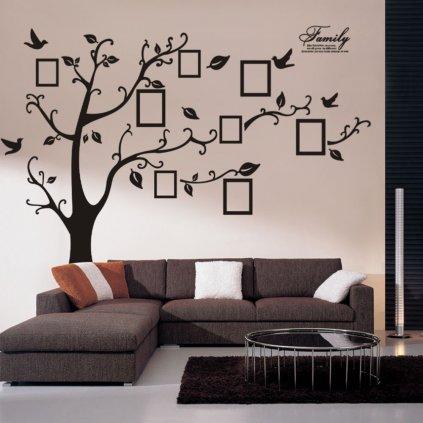Samolepka na zeď Strom vzpomínek