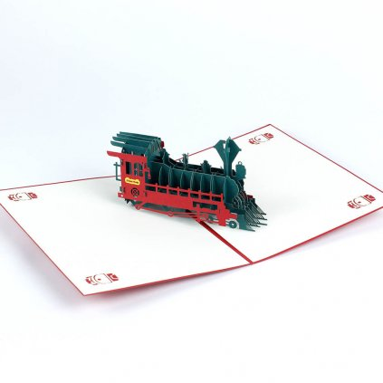 3D přání Velká lokomotiva