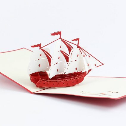 3D přání Loď
