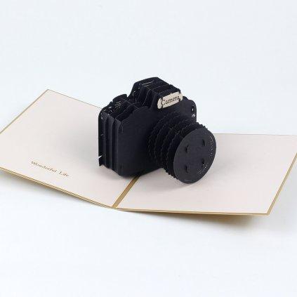 3D přání Fotoaparát
