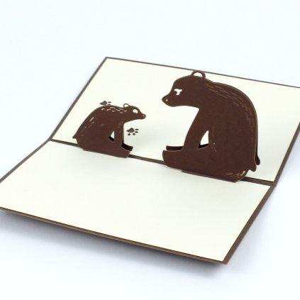 3D přání Medvědi