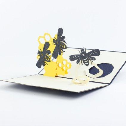 3D přání Včely