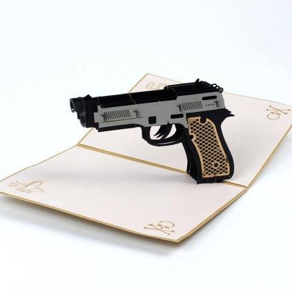 3D přání Pistole