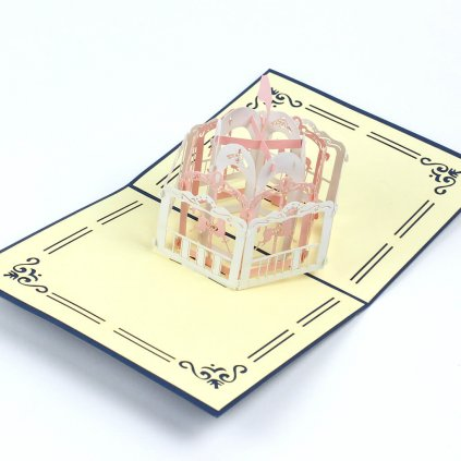 3D přání Dětský kolotoč