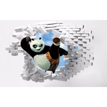 Samolepka na zeď Kung-Fu Panda