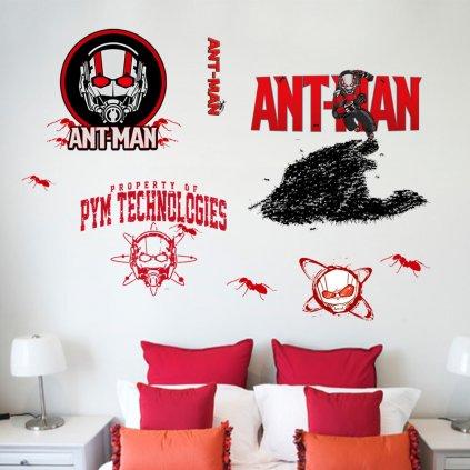 Samolepka na zeď Ant Man Avengers