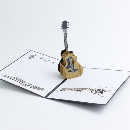 3D přání Kytara