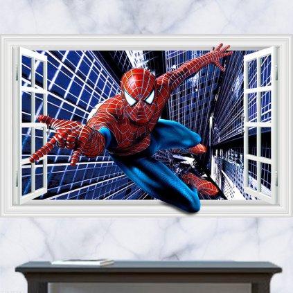 samolepka na zeď Spiderman superhrdina
