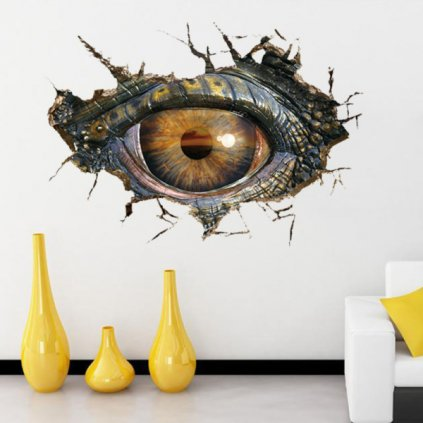 Samolepka Dinosaurovo oko