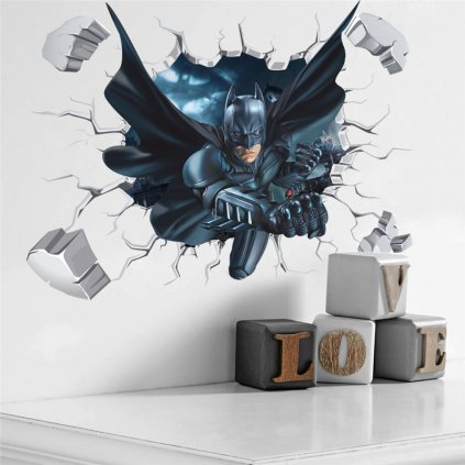 samolepka na zeď Batman