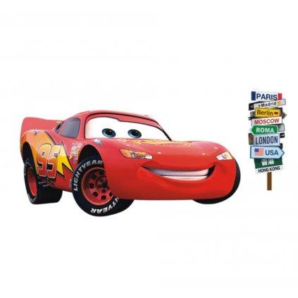 samolepka na zeď Blesk McQueen Auta Cars