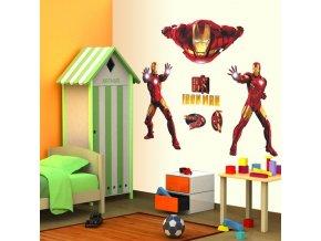 3D Samolepka na zeď Iron Man