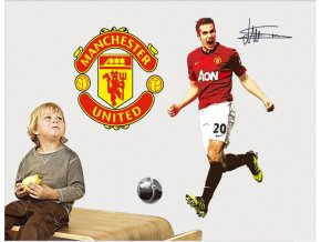 samolepka Robin van Persie Manchester United