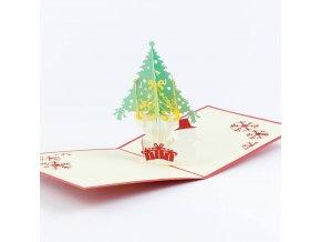 3D přání Šťastné a veselé Vánoce