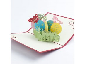 3D přání Velikonoční vajíčka