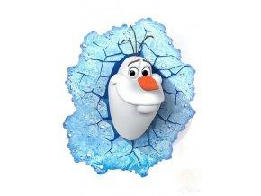 samolepka Olaf Ledové království
