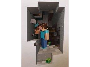Samolepka Minecraft