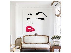 Samolepka Audrey Hepburn Atr 1