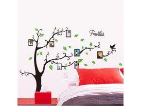 samolepka dekorace Strom rodinných vzpomínek