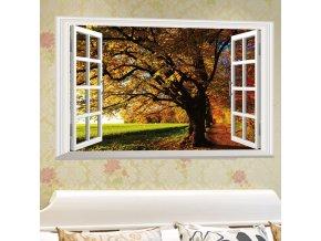 samolepka strom Barvy podzimu