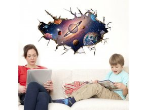 samolepka Planety a vesmír