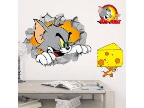 samolepka na zeď Tom a Jerry