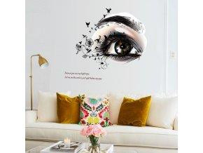 samolepka na zeď Oko naděje