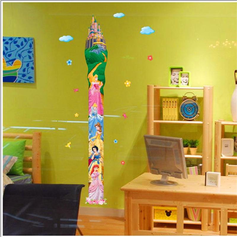 Živá Zeď Samolepka metr Princezny 170 x 60 cm