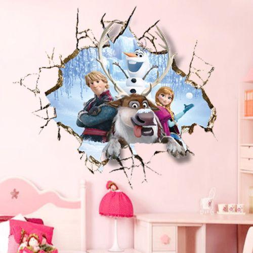 Živá Zeď Samolepka Ledové království 60 x 60 cm
