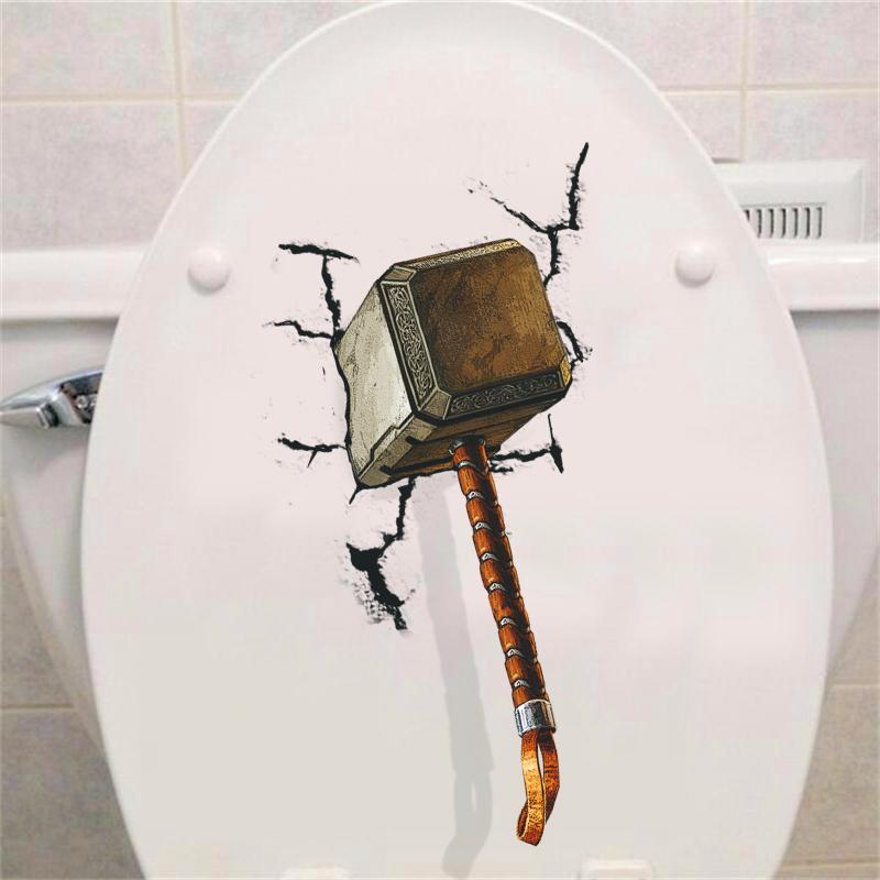Živá Zeď Samolepka Thorovo kladivo %%