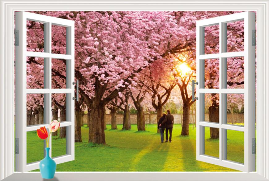 Živá Zeď Samolepka Barvy jara 90 x 60 cm