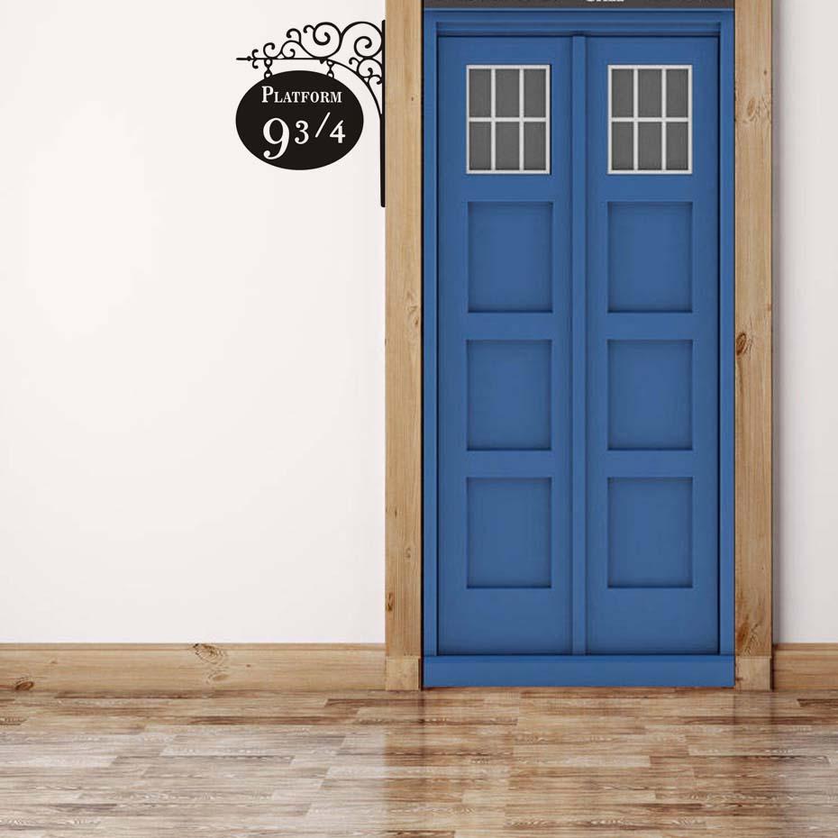 Živá Zeď Samolepka Harry Potter vlakové nástupiště Barva: Levá, Velikost: 25 x 20 cm