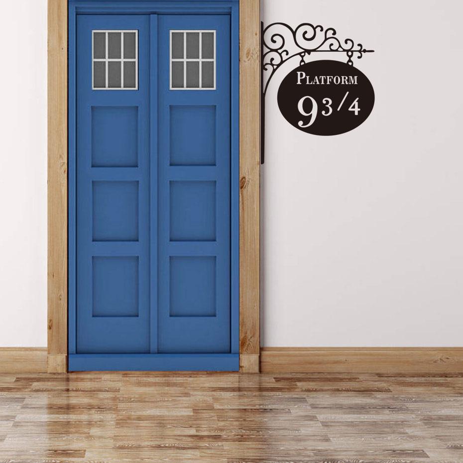 Živá Zeď Samolepka Harry Potter vlakové nástupiště Barva: Pravá, Velikost: 25 x 20 cm