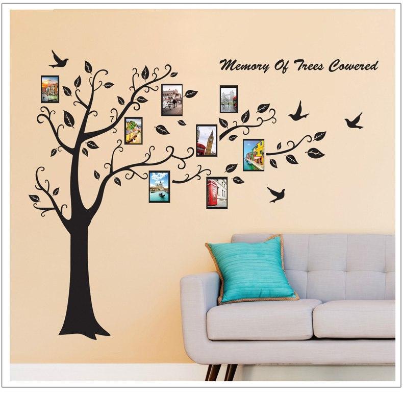 Živá Zeď Samolepka Strom společných vzpomínek