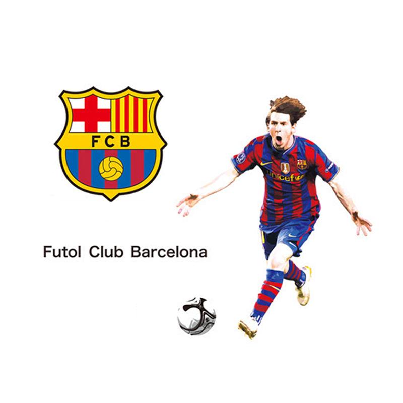Živá Zeď samolepka Messi FC Barcelona 90 x 60 cm