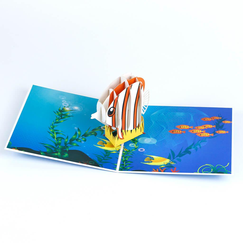 3D přání Rybička