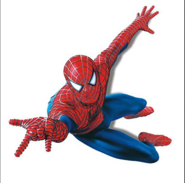 Živá Zeď samolepka Spiderman na zdi 110 x 90 cm
