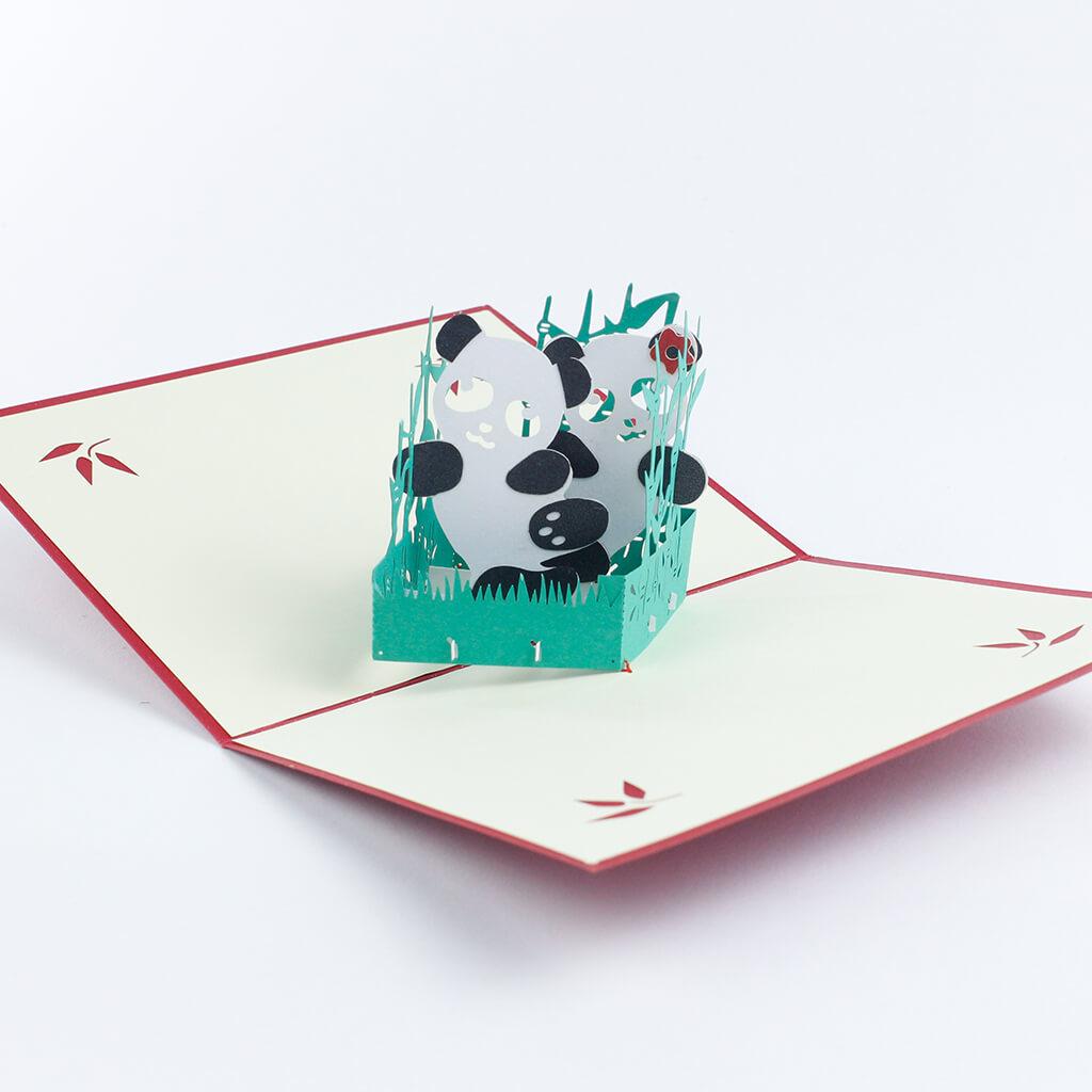 3D přání Pandy