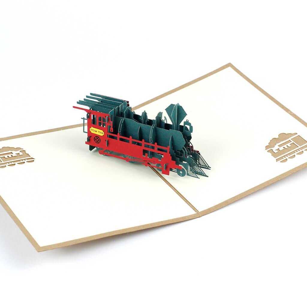 3D přání Malá lokomotiva
