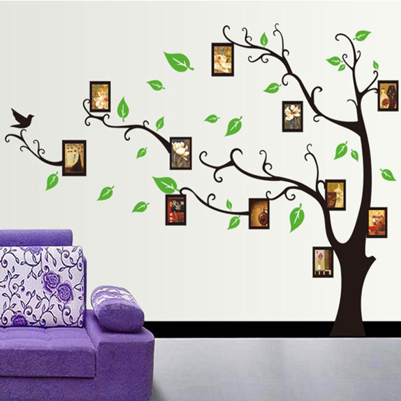 Živá Zeď samolepka Strom Štěstí 120 x 170 cm