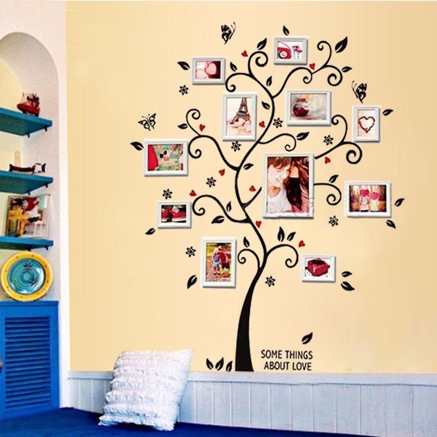 Živá Zeď Samolepka na zeď Strom Života a Lásky %% 60 x 45 cm nebo 90 x 30 cm