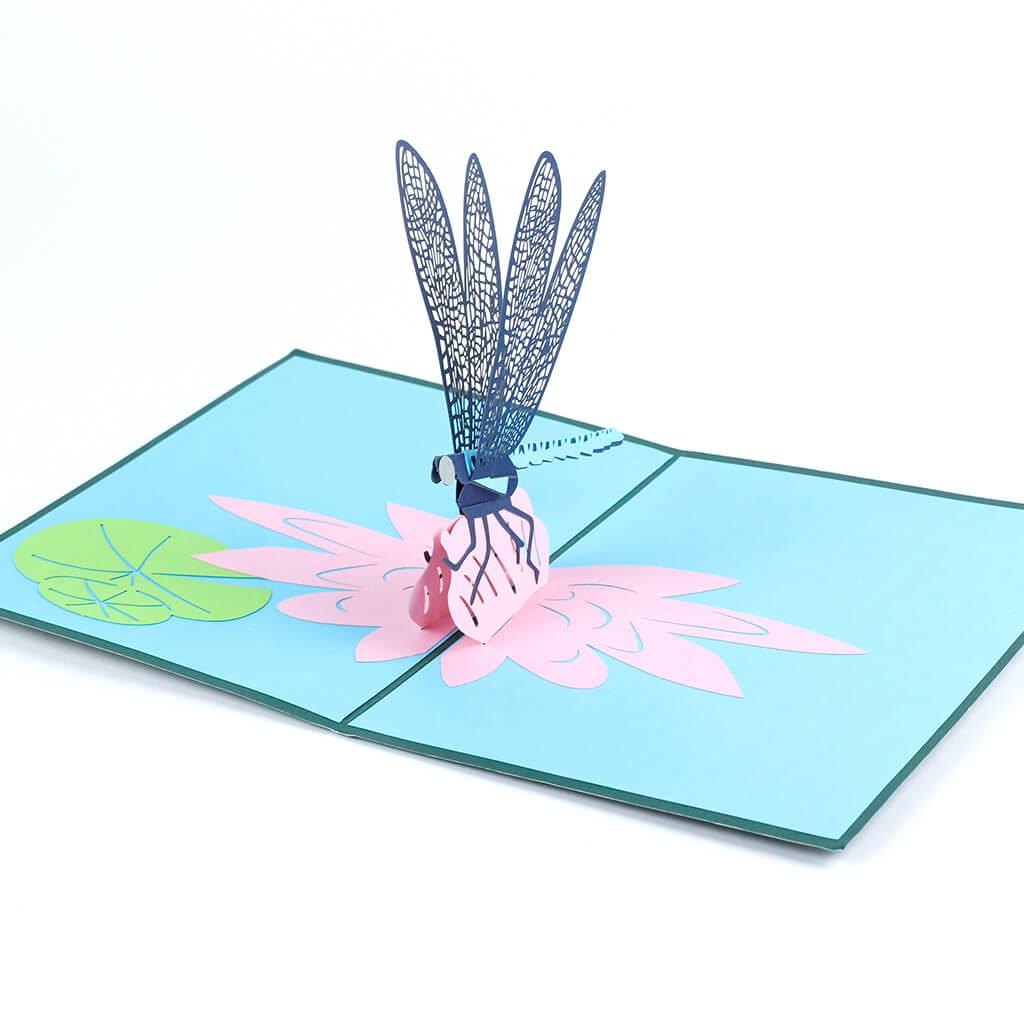 3D přání Vážka