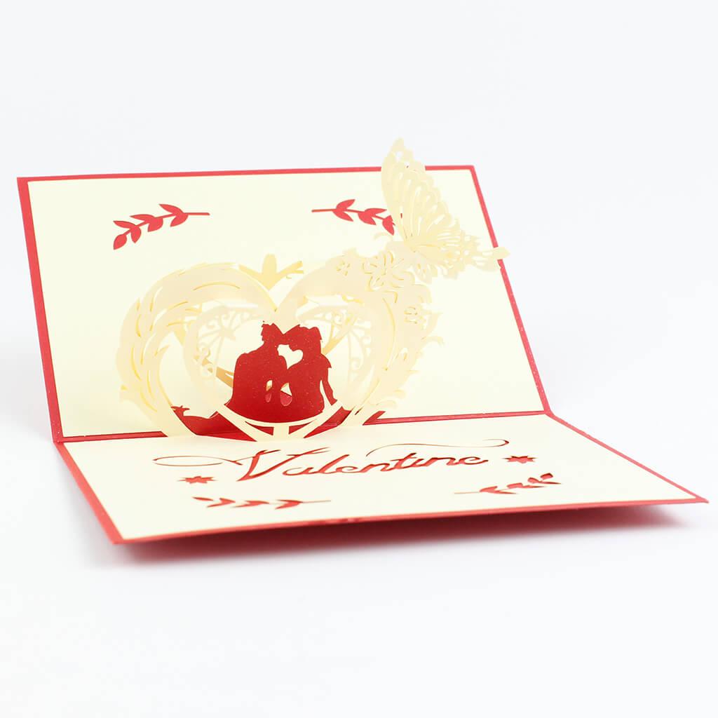 3D přání Valentýn