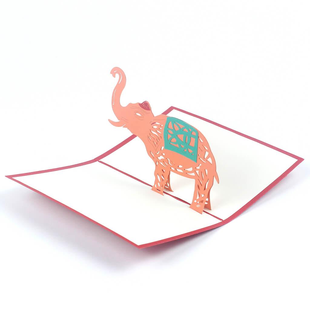 3D přání Slon