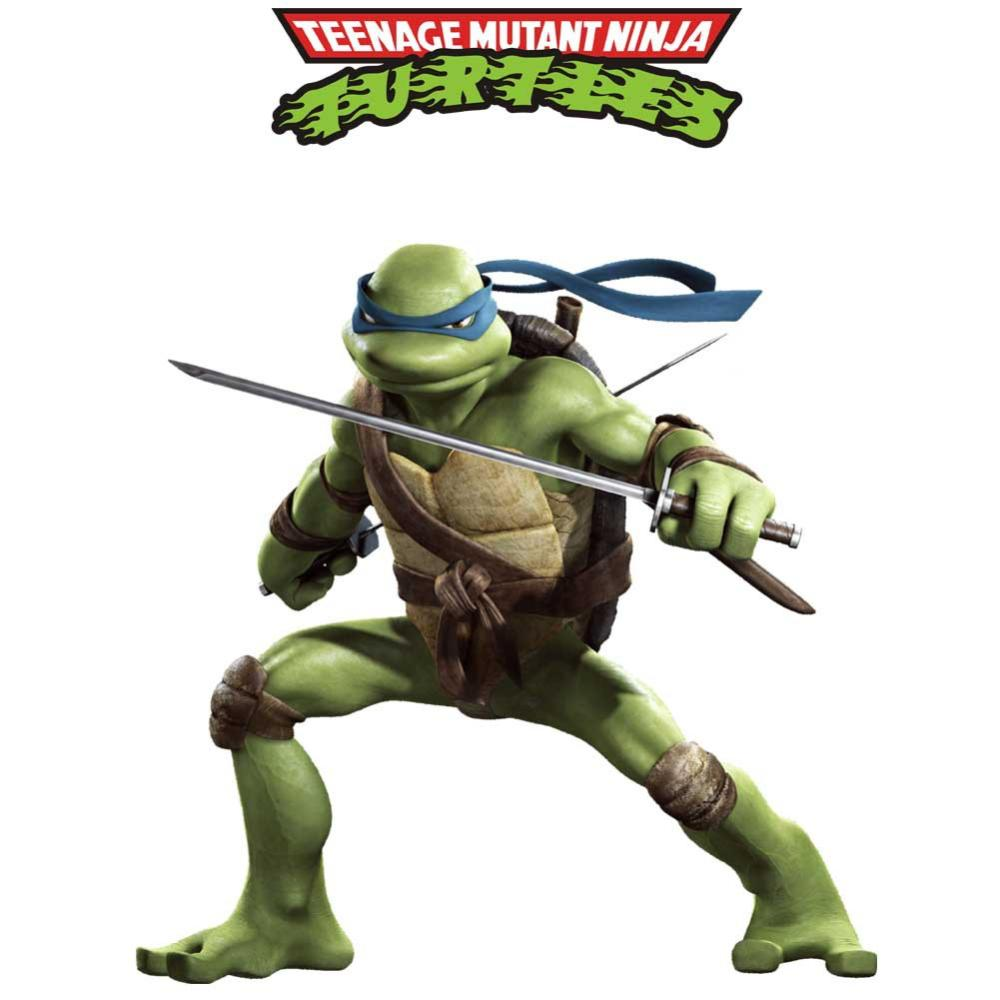Živá Zeď samolepka Želvy Ninja 85 x 65 cm65 x 65 cm