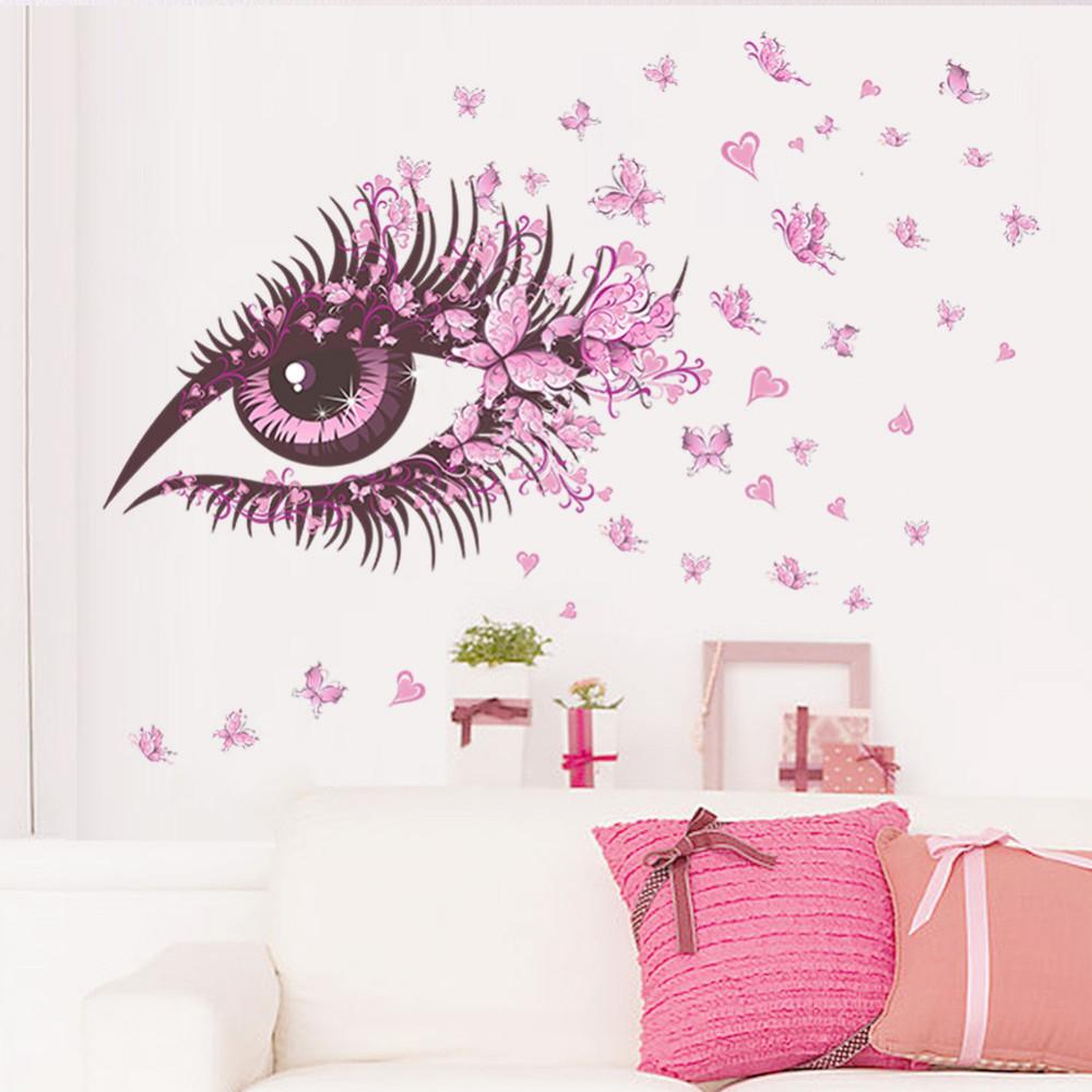Živá Zeď samolepka Motýlí oko 135 x 65 cm