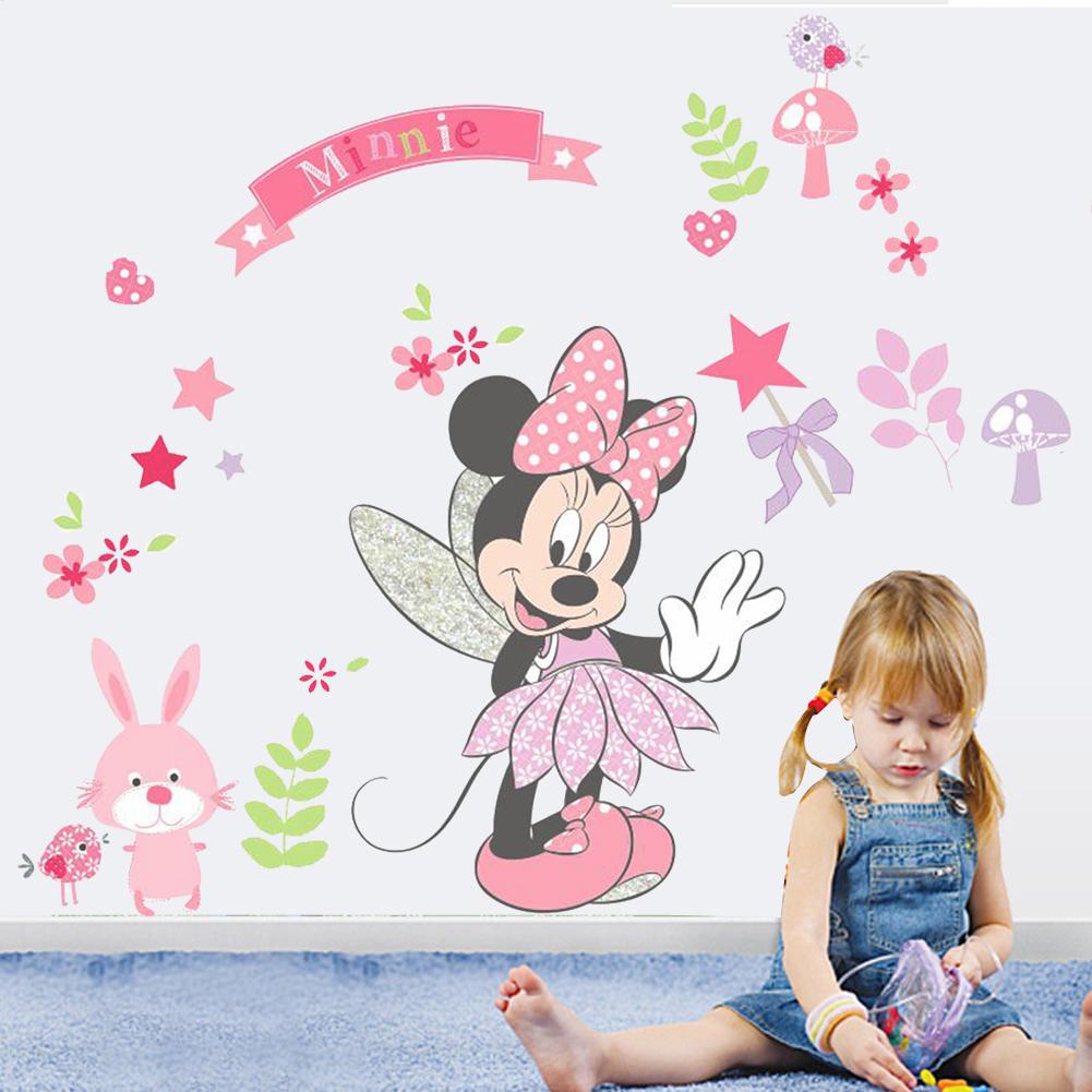 Živá Zeď samolepka Minnie Mouse 88 x 68 cm