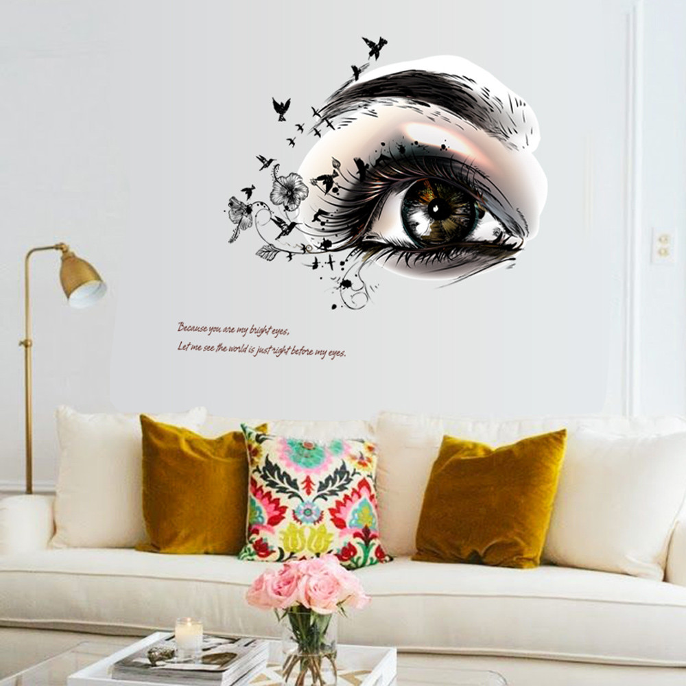 Živá Zeď Samolepka Oko naděje 60 x 53 cm