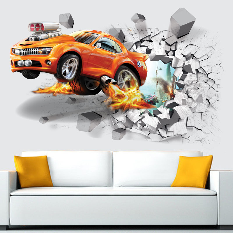 Živá Zeď Samolepka Auto tuning 70 x 50 cm