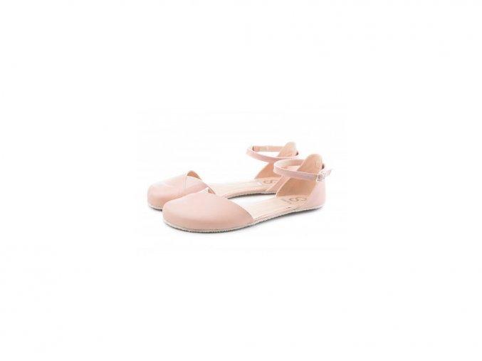 Shapen Sandálky POPPY II Nude WIDE - širší